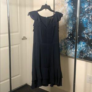 Navy Banana Republic Dress